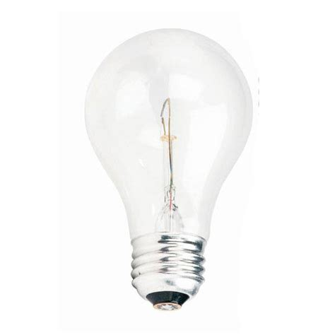 philips 60w 130v a19 e26 2790k clear incandescent light