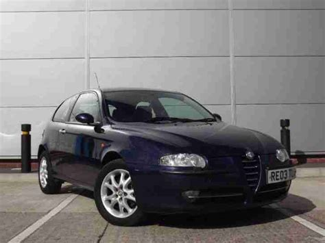 Alfa Romeo 2003 147 2.0 T.spark Lusso 3dr. Car For Sale