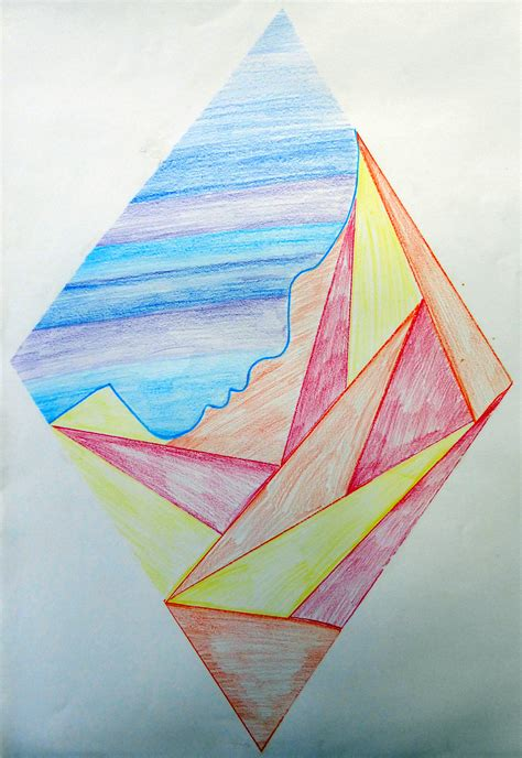 student colored pencil drawings ra eldredge