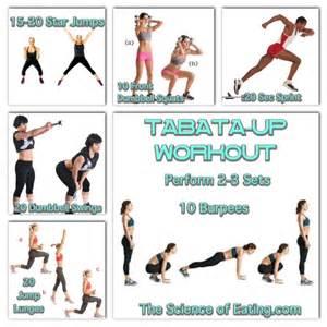 Cardio Tabata Workout Ideas