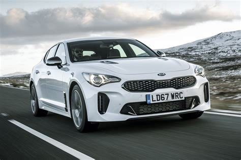 kia stinger gt   petrol review auto express