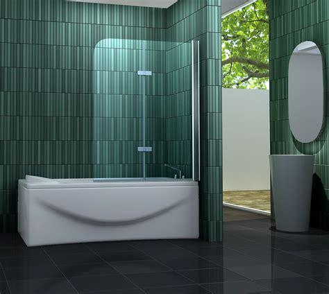 Duschwand Für Badewannen by 120 X 140 Badewannen Faltwand 2 Tlg Duschwand