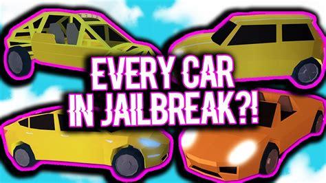 Buying Every Car In Roblox Jailbreak?! Doovi