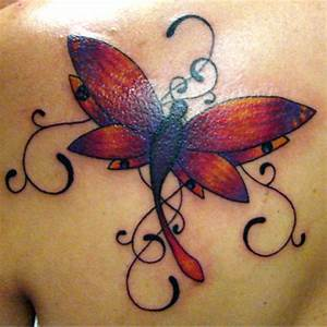 25 Undeniably Dragonfly Tattoos Pictures | WebdesignLayer