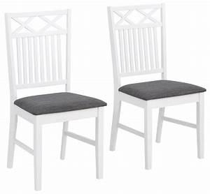 Stuhl Sitzhöhe 50 Cm : home affaire stuhl fullerton im 2er set aus massivem kiefernholz gepolstertes sitzgewebe ~ Markanthonyermac.com Haus und Dekorationen