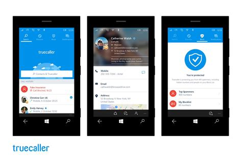 truecaller on quot truecaller is now available for windows 10 mobile you re going to