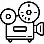 Projector Icon Movies Clipart Icons Film Transparent