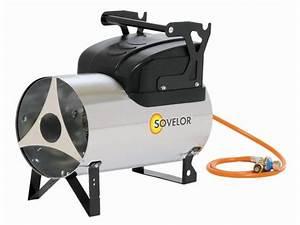 Chauffage Air Air : chauffage air pulse portable au gaz propane mg 310 sovelor ~ Melissatoandfro.com Idées de Décoration
