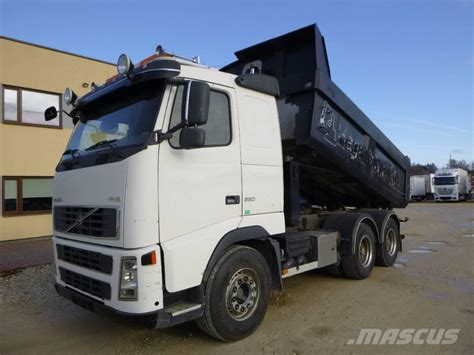 volvo truck price in used volvo fh 16 6x4 big axels dump trucks year 2005