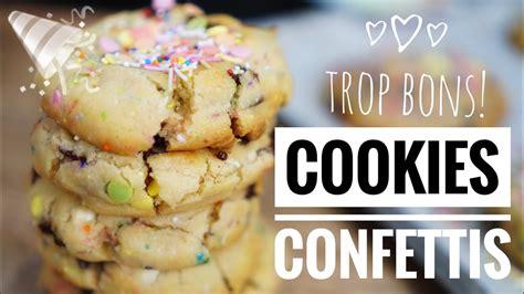 Herve Cuisine Cookies Cookies Confettis La Recette Bonheur à Partager