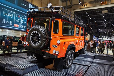 land rover defender 2015 special edition land rover says goodbye to the defender in geneva with 3