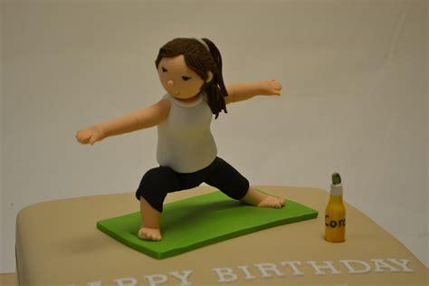 yoga lady topper celebration cakes cakeology