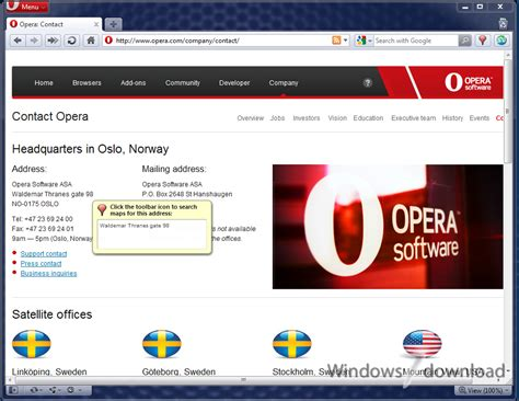 web windows 7 opera for windows 7 smartest featured web browser