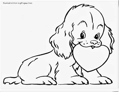 hearts  dogs coloring pages coloring home