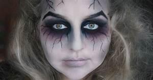 Gruselige Hexe Schminken : floraloo two halloween ghost makeup etc ~ Frokenaadalensverden.com Haus und Dekorationen
