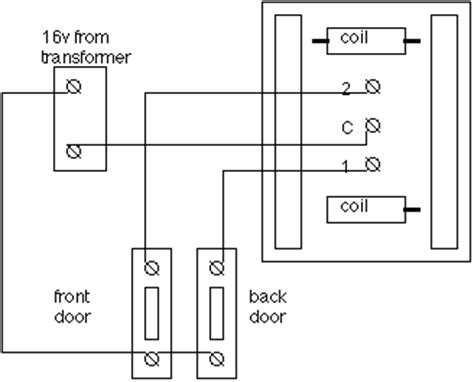 mains doorbell wiring diagram wiring chimes mifinder co