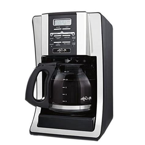 Designed with water filtration which helps remove learn how to enjoy the ideal cup of coffee using the mr. Mr. Coffee BVMC-SJX33GT-AM 12-Cup Programmable Coffee Maker