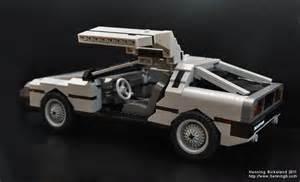 LEGO DeLorean Car