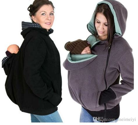 baby carrier sweater 2017 baby carrying jacket baby carrier hoodie kangaroo
