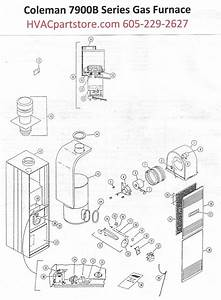 7956b856 Coleman Gas Furnace Parts  U2013 Hvacpartstore