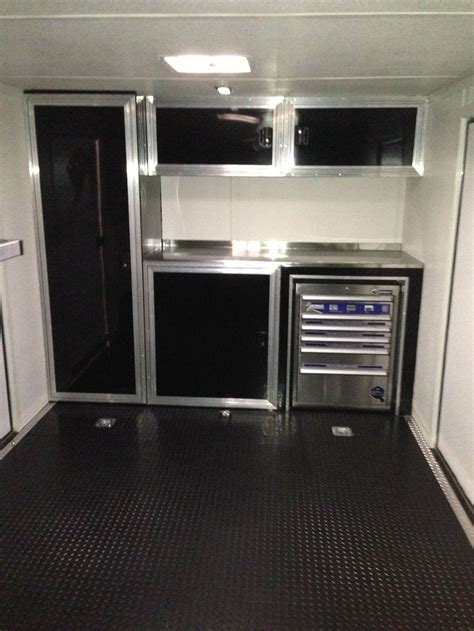 Race Trailer Cabinets by Race Trailer Cabinets Work Trailers And