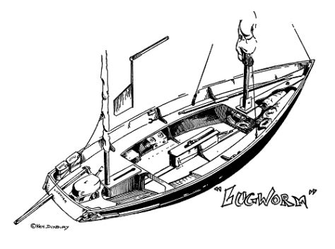 The Open Boat Published by Ken Duxbury S Lugworm Drascombe Lugger Adventures In Print