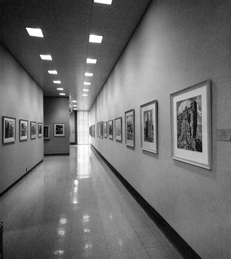 Sandzen Gallery Print Corridor 1959 Photo By Don Richards