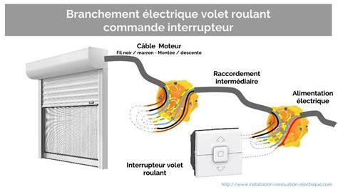 alimentation electrique du volet roulant ce quil faut