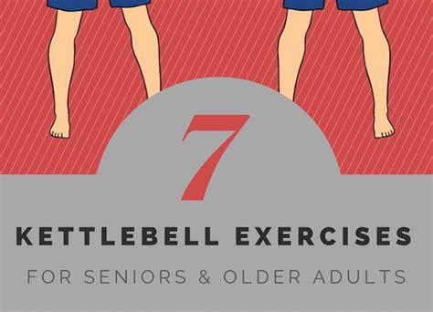 older seniors adults exercises kettlebell