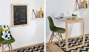 Table D Appoint Cuisine : diy cette table d 39 appoint escamotable se transforme en ~ Melissatoandfro.com Idées de Décoration