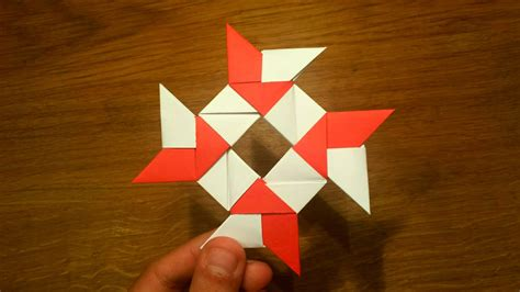 How To Make A Paper 8-pointed Ninja Star