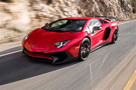 lamborghini aventador 2015 lamborghini aventador sv test review