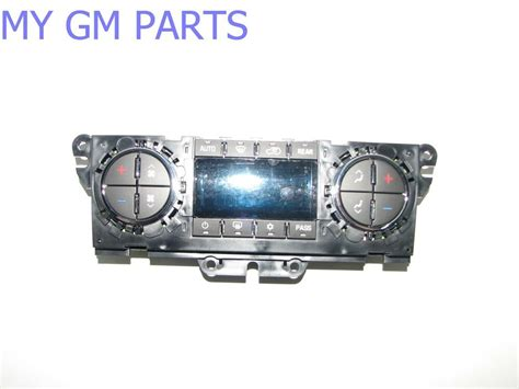 chevy traverse buick enclave ac heater control