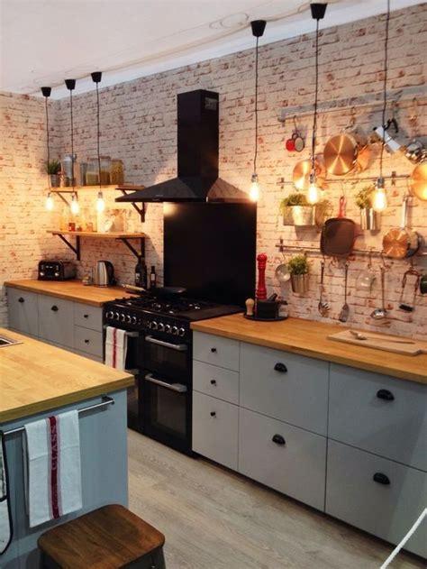 cocinas rusticas de madera piedra ladrillo  disenos