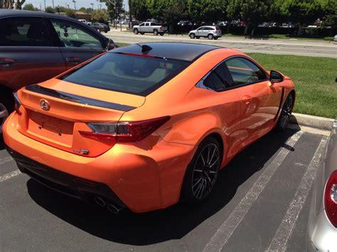 rcf lexus orange rcf rc f sport at hq page 3 clublexus lexus forum