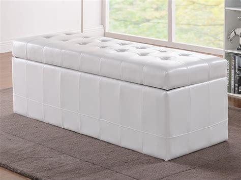 densité canapé banc coffre de rangement simili blanc noir choco wagner ii