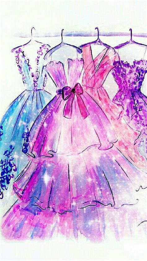 sparkling dresses cocoppa wallpapers fashion sketches