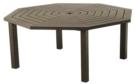 cast aluminum octagon patio table cast aluminum