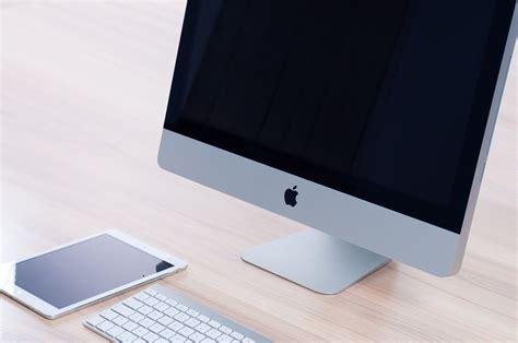 mac pc bureau free photo mac apple home office free image on