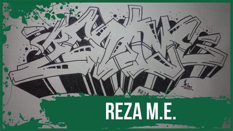 Grafiti Reza : How To Make Graffiti Name