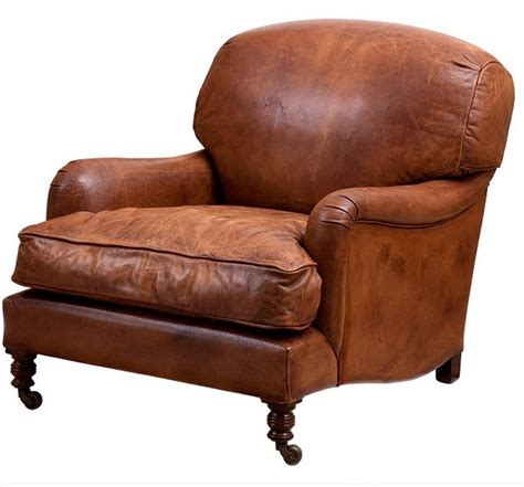 chesterfield luxury real leather wing chair vintage cigar