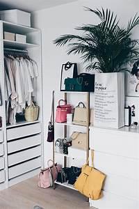 Ikea Regal Aufbewahrung : ikea hyllis hack meine diy taschen aufbewahrung im ankleideraum ~ Sanjose-hotels-ca.com Haus und Dekorationen