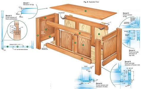 wood hope chest plans  plan kitchen cabinet home
