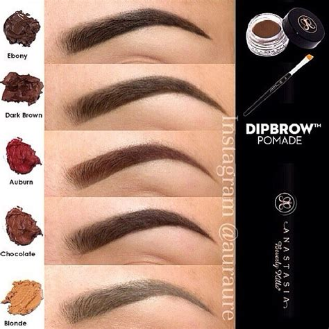 Brow Color For Black Hair by Dipbrow Pomade Nalanie