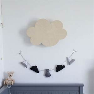 Applique Murale Nuage : apporter de la magie dans la chambre via la d coration murale nuage ~ Teatrodelosmanantiales.com Idées de Décoration