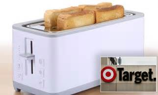 Target Recalls Toaster Over Fears They Will Explode