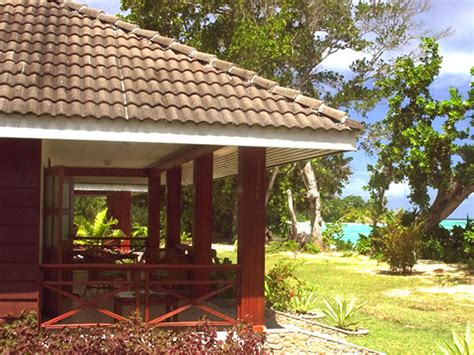 accommodation l union chalet la digue island lodge seychelles