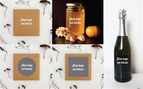 Uzlīme burciņām un kastītēm - Jūsu teksts - UZLĪMES-UZRAKSTI, SIMBOLI /burciņām, pudelēm un ...