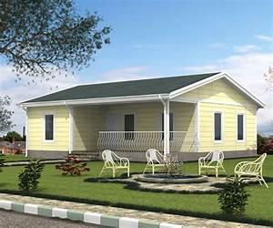 Maison Préfabriquée En Bois : maison prefabriquee modulable beton accueil design et ~ Premium-room.com Idées de Décoration