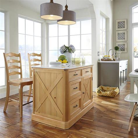 pine kitchen islands home styles country lodge pine kitchen island with quartz